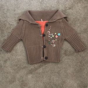 Free People embroidered Sweater Cardigan
